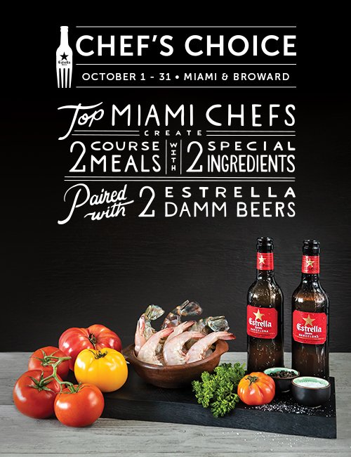 Beer+food =akind of heaven. For themonth ofOctober, trymenus starring gambas &/ortomatoes created bylocal chefs who love EstrellaDamm.   Visit https://t.co/EcULlTu0mn for more information. #EstrellaDamm #chefschoice2018 https://t.co/FPMpUT9wns