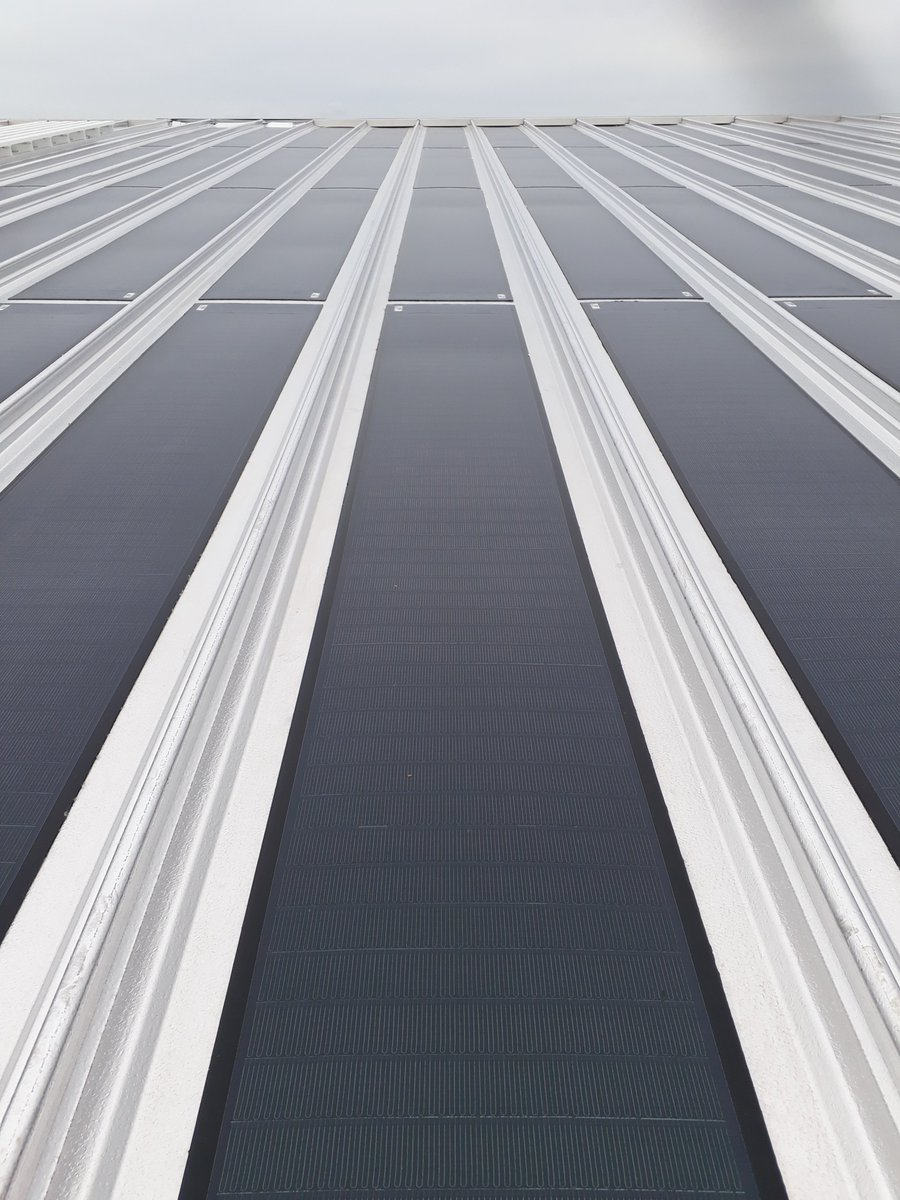 Kalzip A Twitter Check Out Our New Generation Aluplussolar System A Highly Efficient Maintenance Free Technically Advanced Integrated Pv Option For Kalzip Roof Systems First Installation Complete Renewableenergy Pv Https T Co Ncfslptqcq