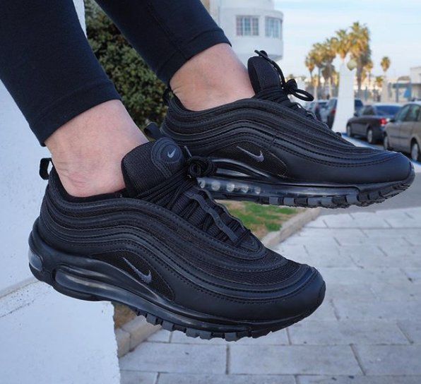 nike air max 97 triple black 1 Sneaker Myth