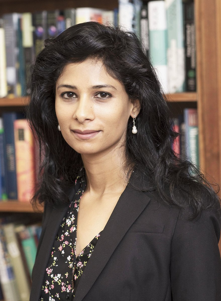 IMF Managing Director Christine  appoints Harvard's Gita Gopinath as IMF Chief Economist, replacing Maury Obstfeld who will retire from IMF in December.  https://t.co/M6UV5qH714