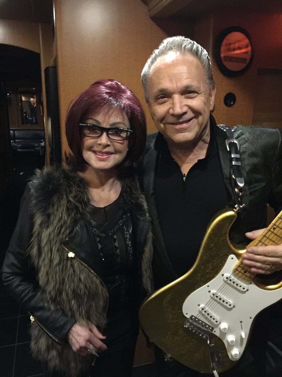 At Jimmie Vaughan's concert.I met Jimmie and his genius brother, electric guitarist Stevie Ray years ago in Austin TX where they lived. Stevie Ray was killed in a helicopter crash.Jimmie and I have remained friends all these years.I love the Blues and Jimmie's show was fabulous.