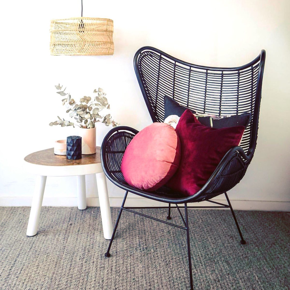 Hk Living Egg Chair.Hkliving Usa On Twitter Nice Lines In This All Natural Rattan
