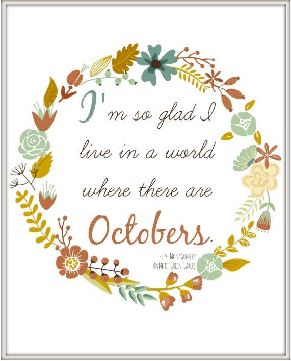 """King County Library on Twitter: """"""""I'm so glad I live in a world where there  are Octobers."""" ― Anne of Green Gables. Whether it's a classic you enjoyed  as a child or"""