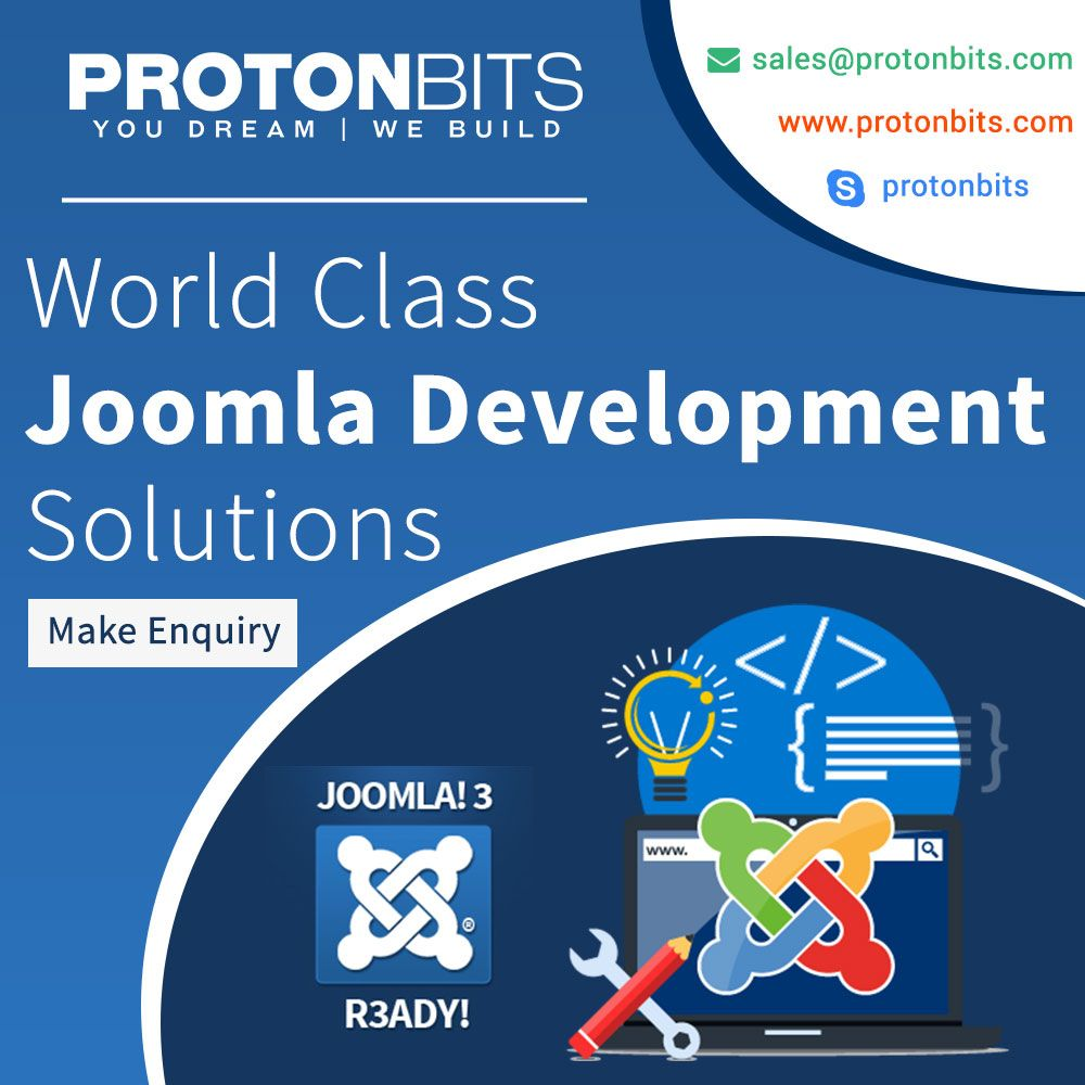 Looking for a Joomla Developer? Here we are, @ProtonBitsSoft experts in Joomla Development. Contact: #Joomla #JoomlaDevelopment #Website #Development #HireDeveloper #Laravel #Zend #Codeigniter #RubyonRail #yii #Symfony #Webdevelopment  https:// buff.ly/2Rdiqx2    <br>http://pic.twitter.com/2iu7uN0hQW