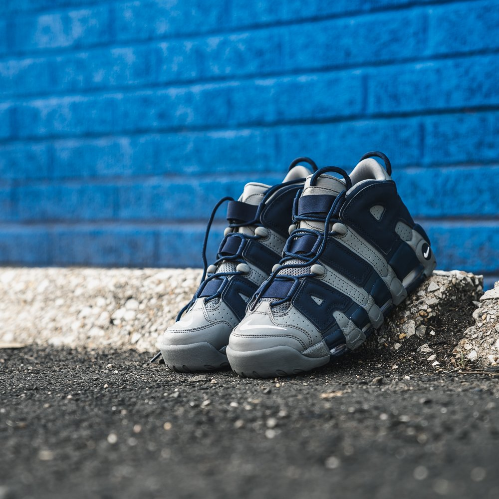 d199f31d931bfc  Hoyas   Nike Air More Uptempo  96 Now Available Online and In Stores  cool   grey  white  midnight  navy h  ttp   ow.ly Lgx330lDfRxpic.twitter.com s41UobOslz