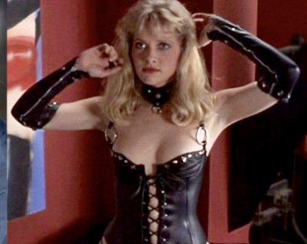 leather Barbara crampton