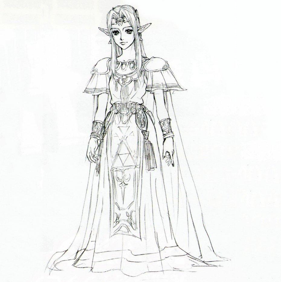 Legend Of Zelda Ocarina Of Time Concept Art