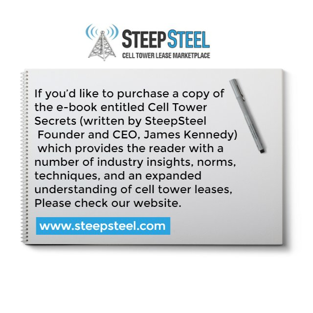 Steepsteel Cell Tower Lease Marketplace