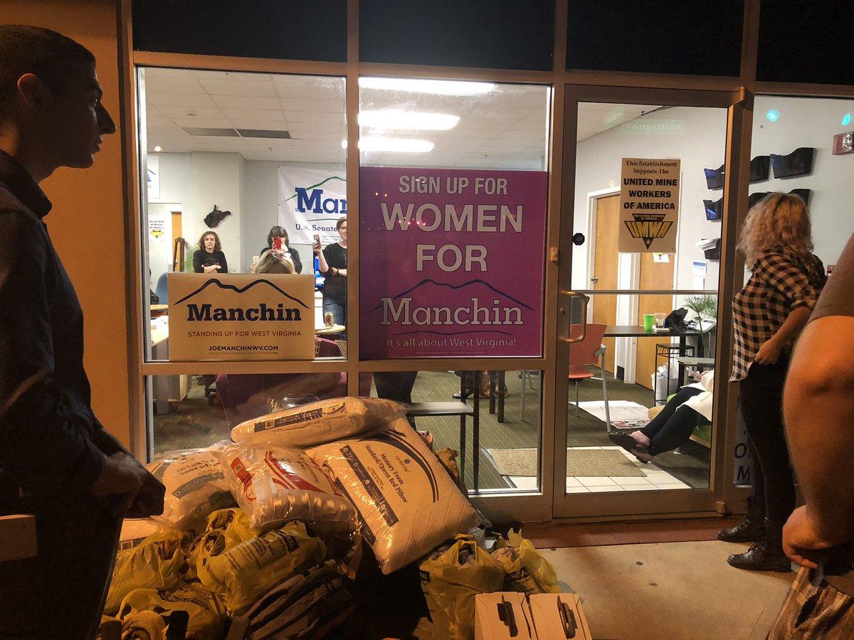 manchins charleston campaign office - HD1200×900