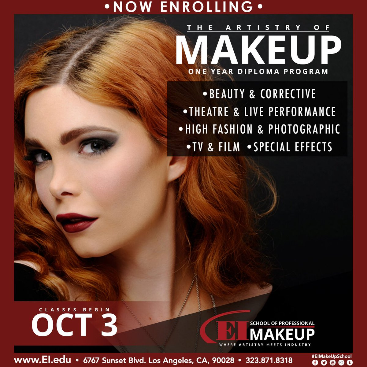 Ei School Of Professional Makeup On