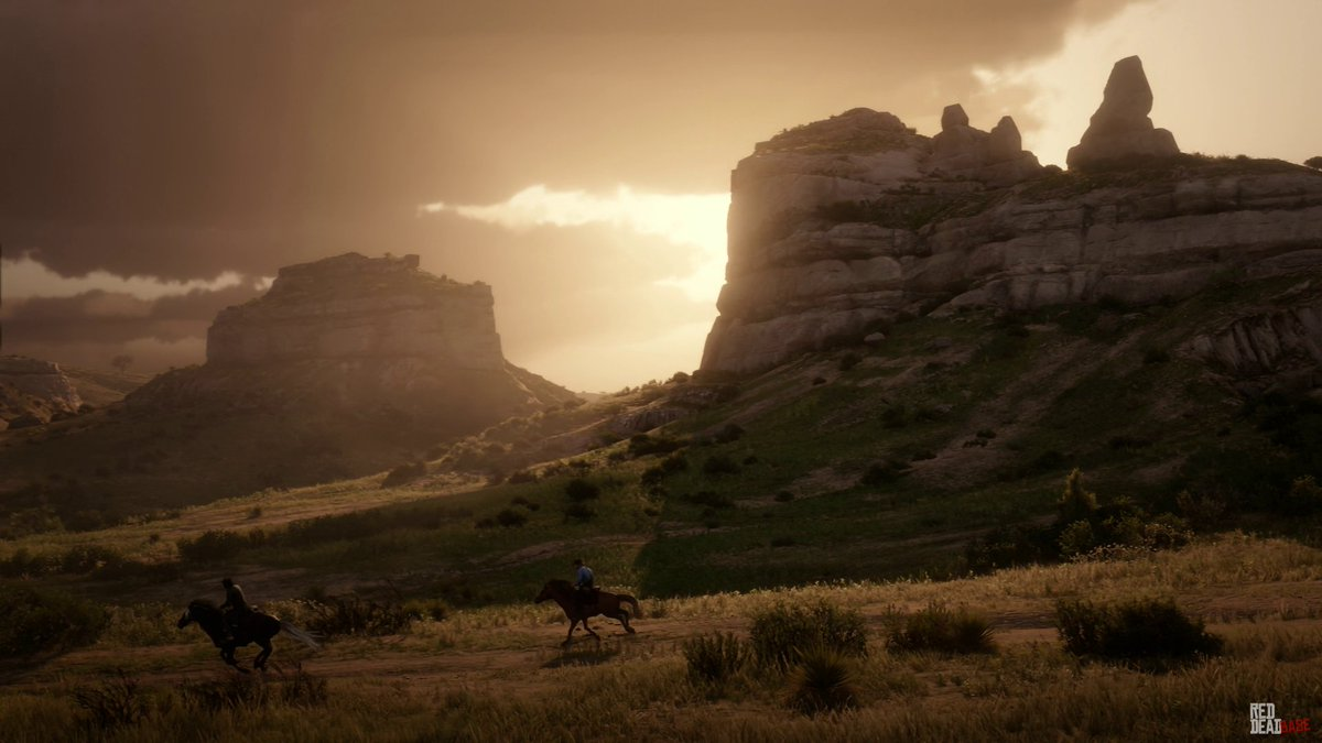 describe beautiful scenery
