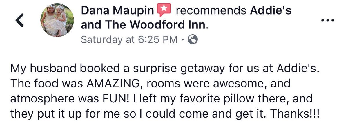 The Woodford Inn On Twitter We Love Taking Care Of Our Guests
