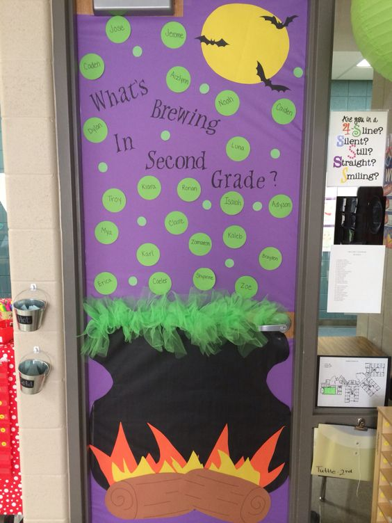 halloween witch door decorating ideas classroom decorations nowpinning hashtag on twitter nowpinning