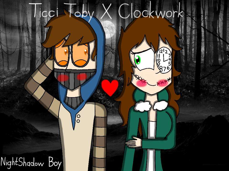 Ticci Toby X Clockwork By NightShadow Boy Tweet added by