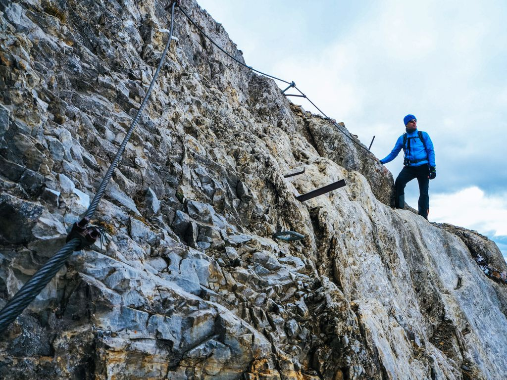 Klettersteig Uk : Watzmann Überschreitung klettersteig bergsteigen