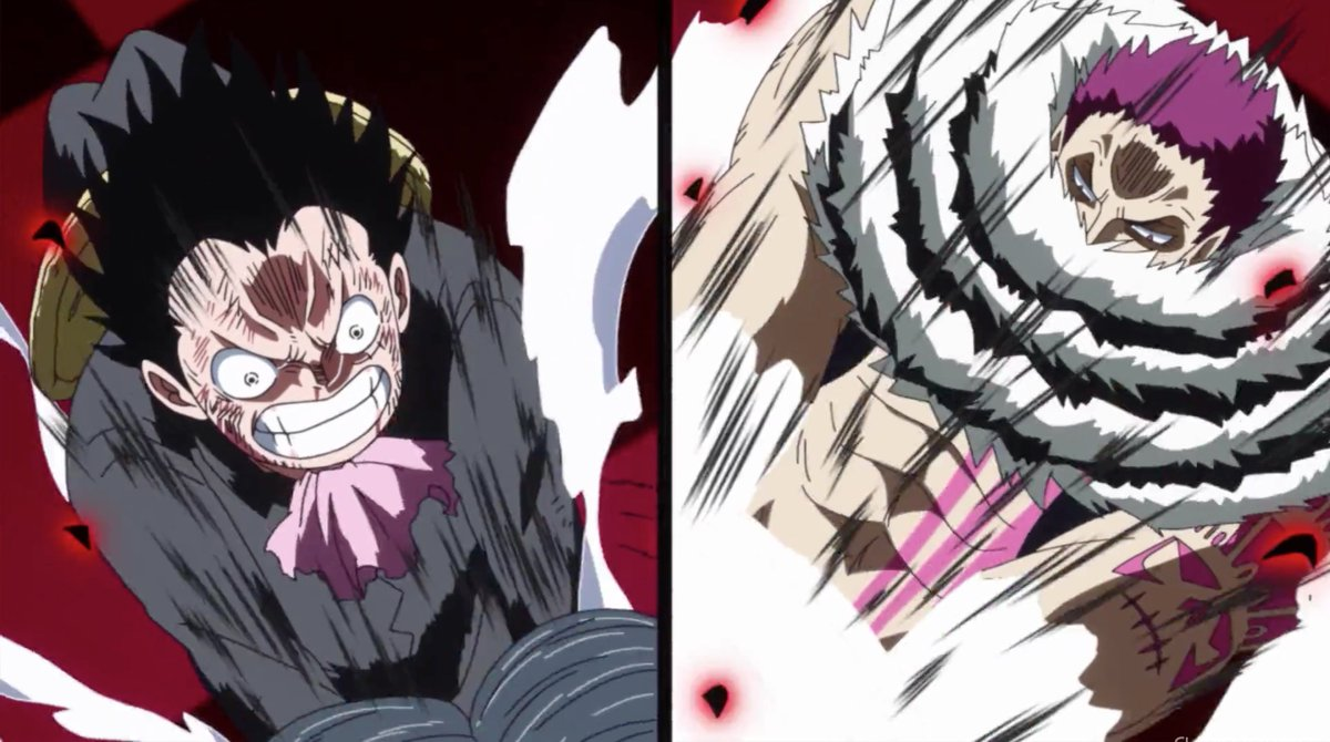 Image result for luffy vs katakuri