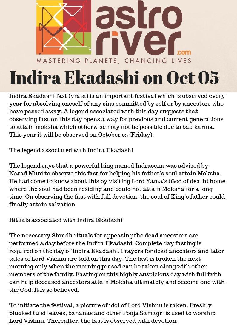 indiraekadashi hashtag on Twitter