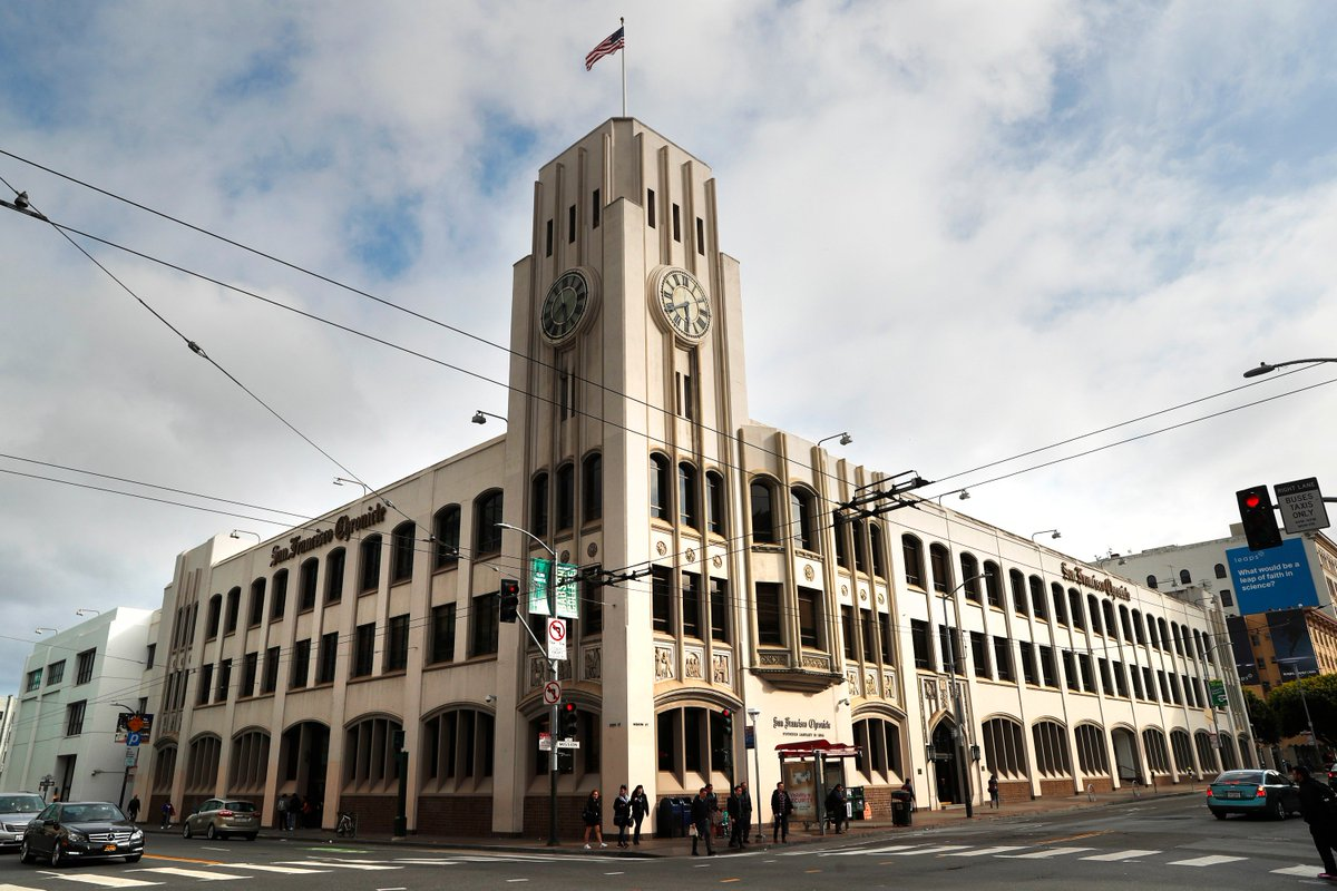 Image result for SF Chronicle building