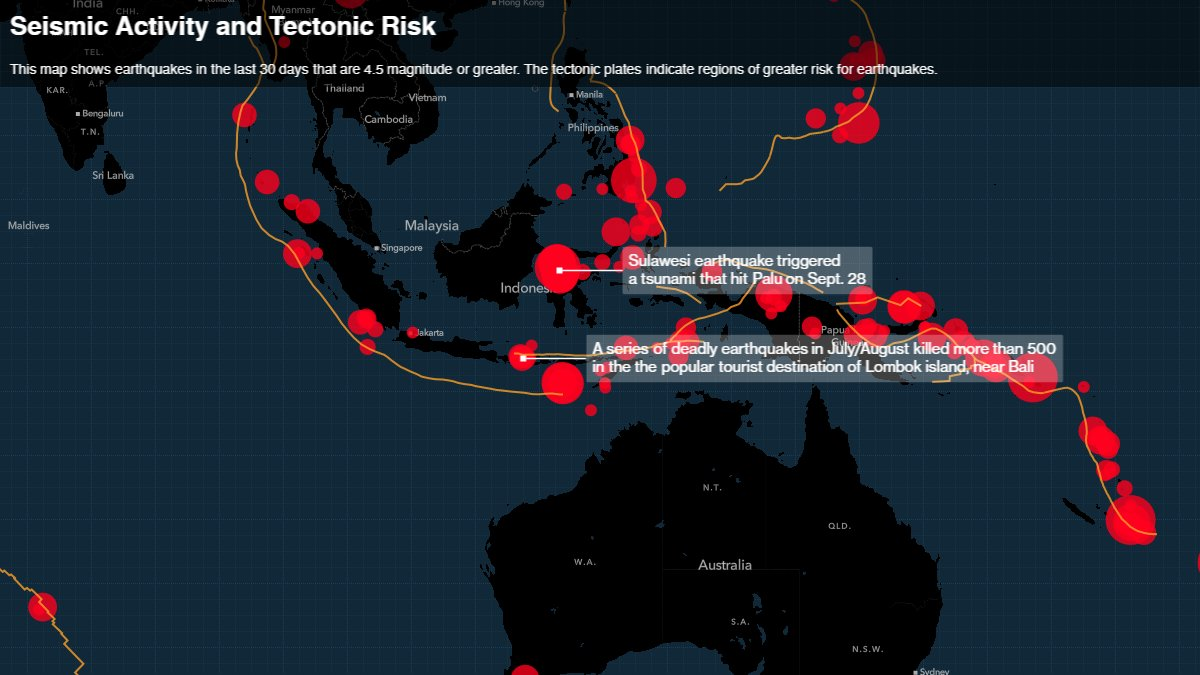 Carte Bali Palu.Tictoc By Bloomberg On Twitter Latest On Indonesia Earthquake