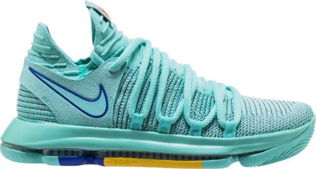 3c3cb6d01ec3 zoom kd 10 city edition 2 mens basketball shoe hyper turquoise racer blue  shipped 9998