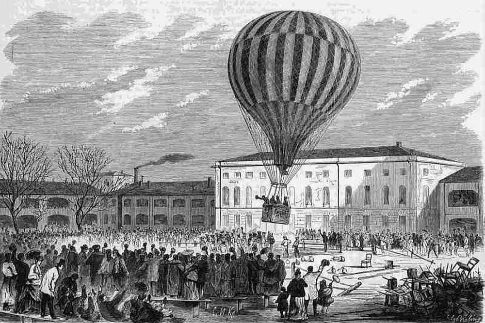 Как летают на воздушном шаре