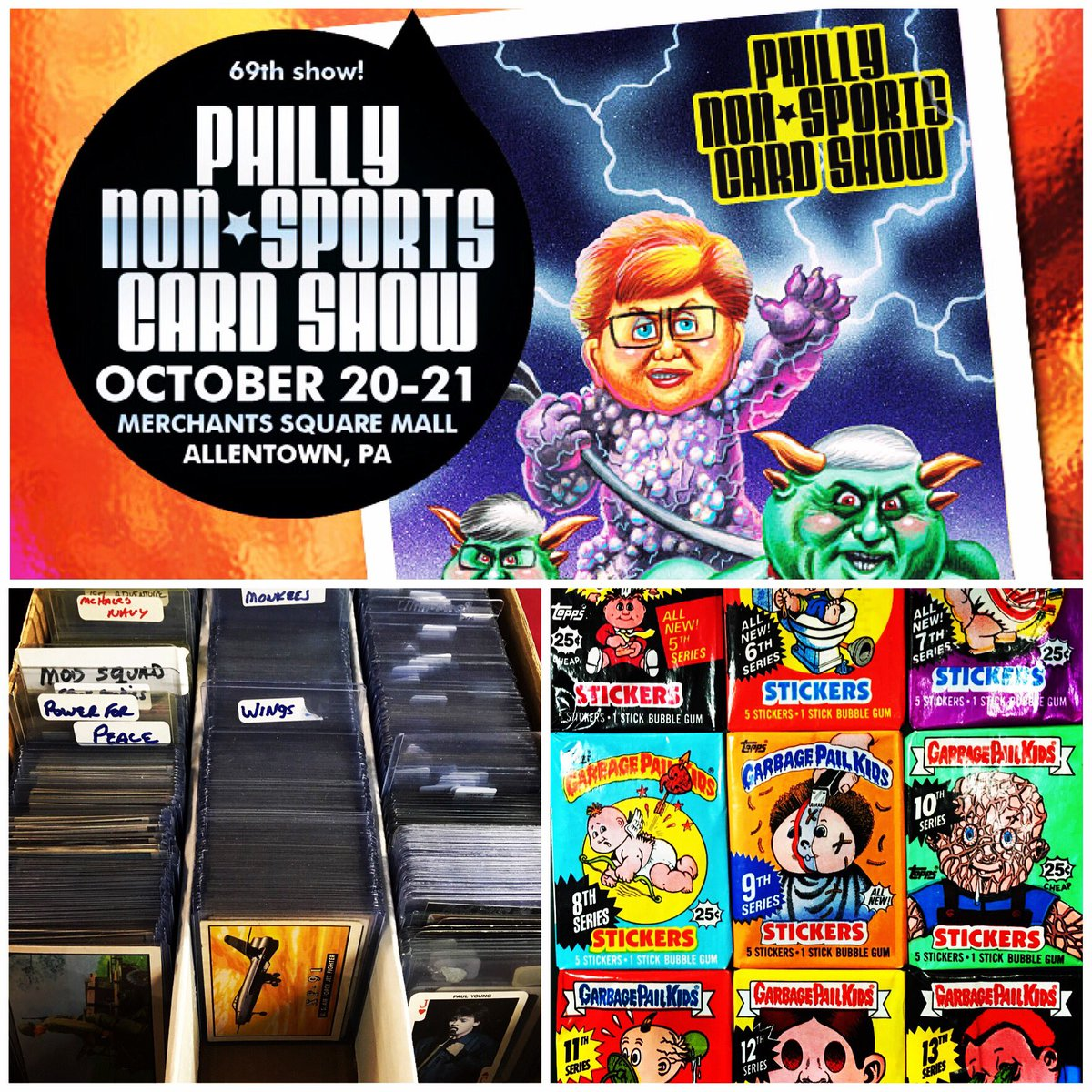 Mr Non Sport Cards On Twitter Philly Non Sports Card Show October