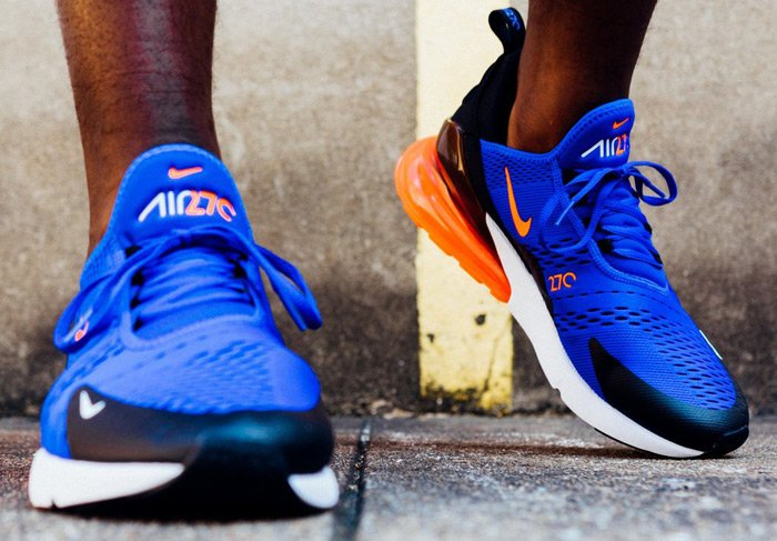 newest b89fe 4a0f7 ... the racer blue/black-hyper crimson Nike Air Max 270 is over 35% OFF  retail at $95.99 + ship! BUY HERE -> http://bit.ly/2ypi6WT (use promo code  ...