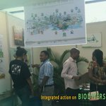 Image for the Tweet beginning: Engaging at the #INTERACTBio stand