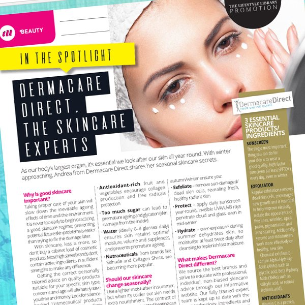 a17c2c46430 ... out and @DermacareDirect is #InTheSpotlight for our expert advice  @TLLteam - find us on page 12 https://goo.gl/c23BB7 #skincare #experts  #advice #tips ...
