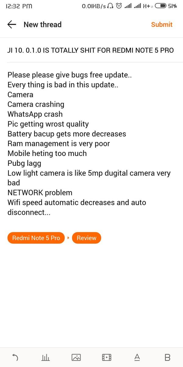 Redmi Note 5 Pro Wifi Not Working