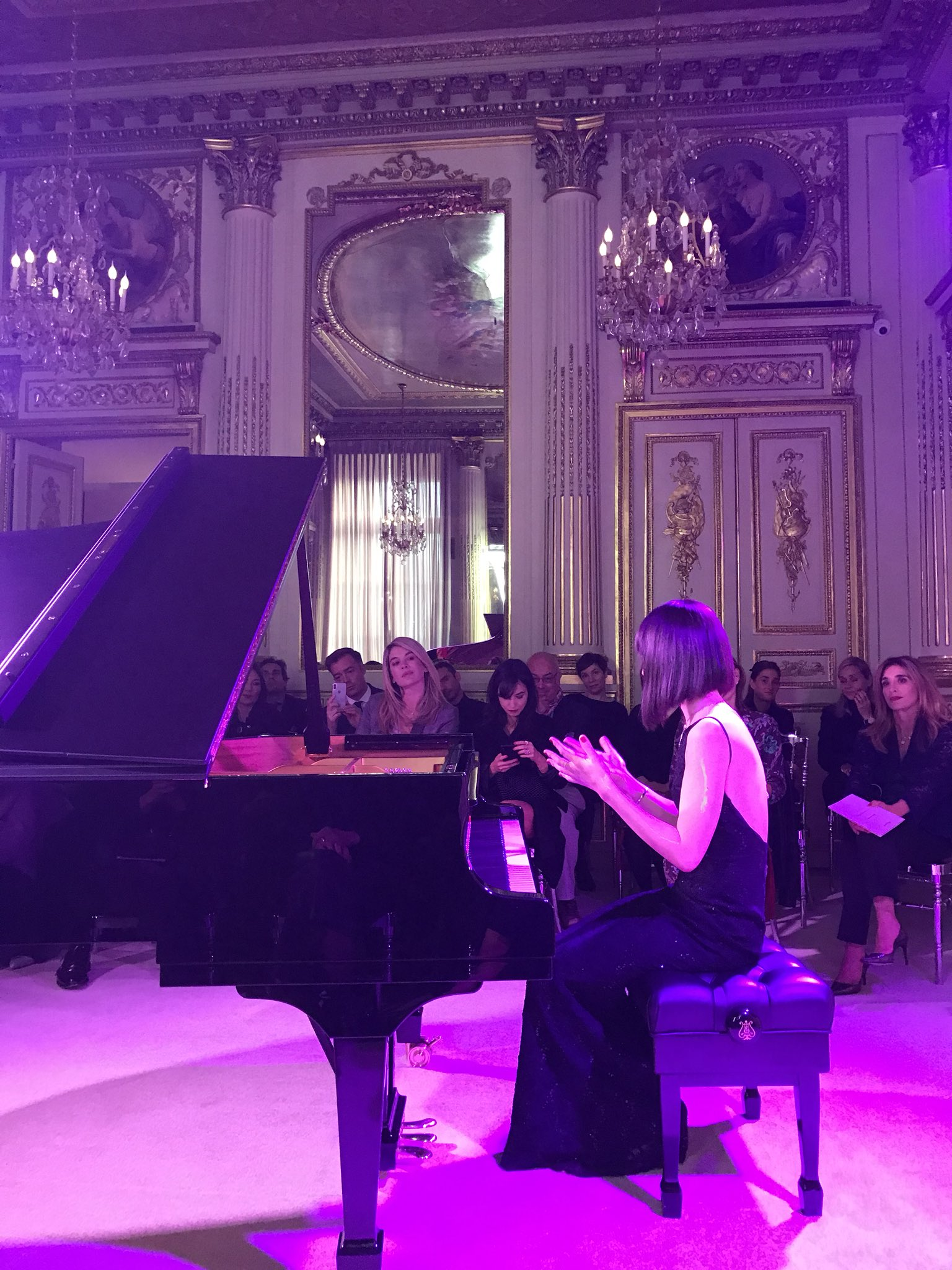 Reloaded twaddle – RT @encore_artists: Spellbinding evening with @AliceSaraOtt in the listed rooms ...