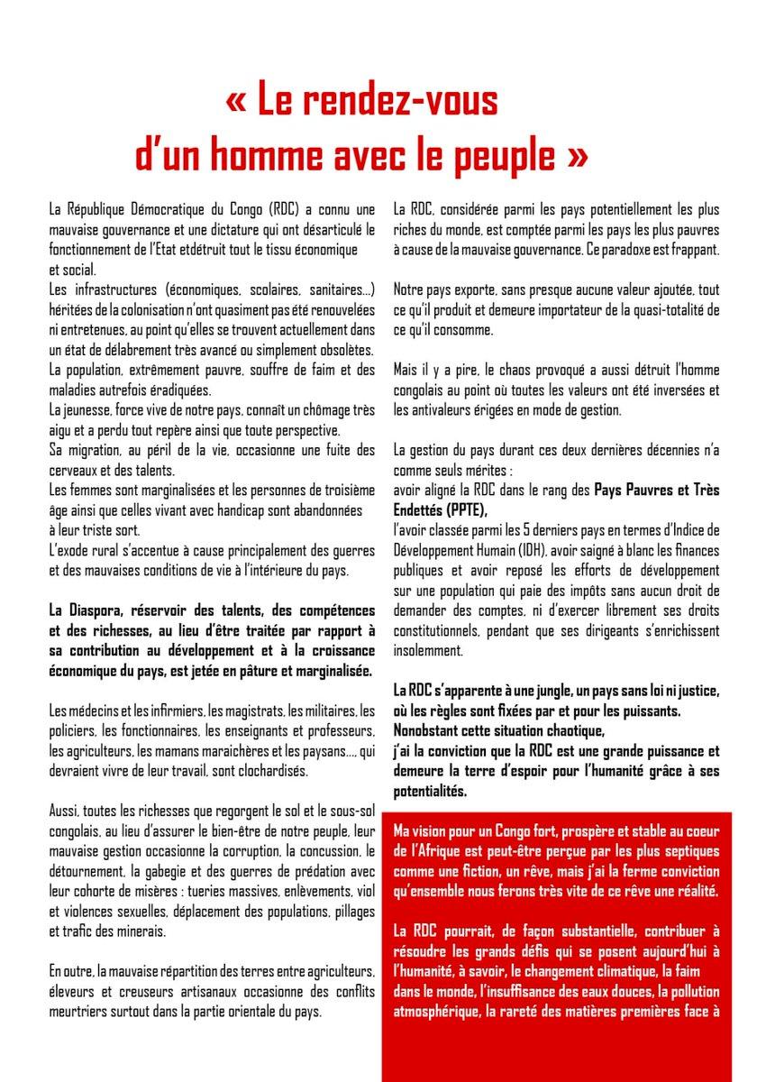 Unc Rdc Officiel On Twitter Unc Les 20 Piliers Comme Annonce