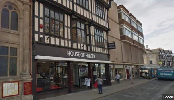 BBC Shropshire's photo on House of Fraser