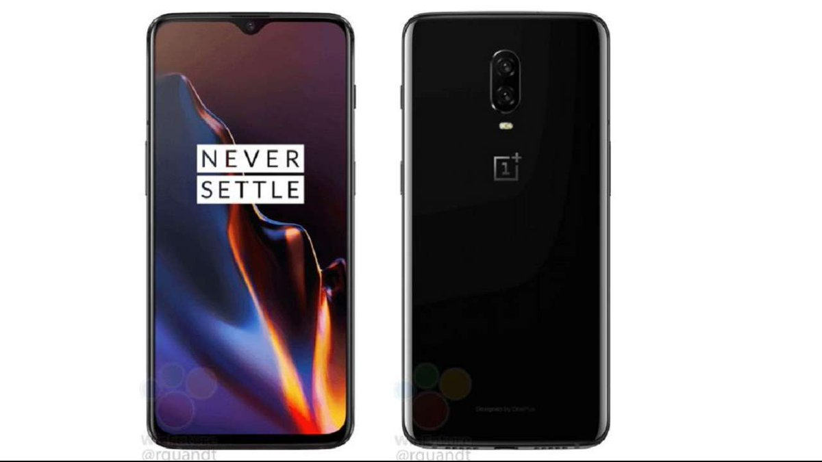 #pictures : #OnePlus6T press renders reveal design, waterdrop notch and color variants https://t.co/JeQr5HOBZ0