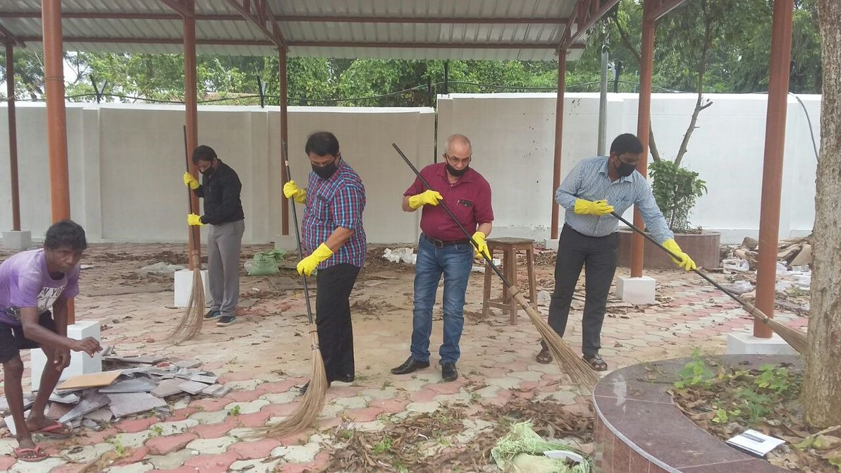 Nbcc India Limited On Twitter Nbcc Officials Participated In A Cleanliness Drive Organised As Part Of The Ongoing Swachhatahiseva Movement At The Tripura Institute Of Technology At Agartala Tripura Cleanindia Swachhbharat Shs2018
