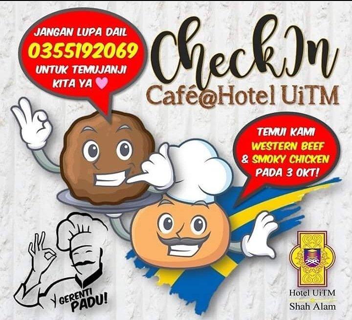 """Hotel UiTM Shah Alam على تويتر: """"Mulai 3 Okt, tidak perlu lagi ke  Damansara,Cheras atau Tebrau JB kerana di Check In Cafe' juga menyajikan  hidangan bebola yang viral itu, Apa lagi,jom singgah! #"""