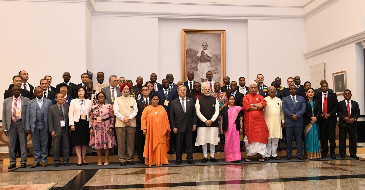 Glimpses from the Mahatma Gandhi International Sanitation Convention in Delhi. #Gandhi150