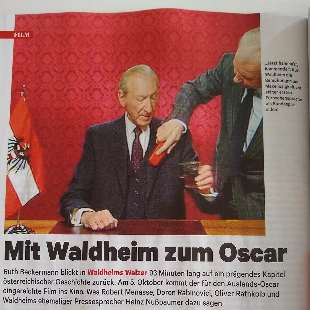 Filmladenlunafilm On Twitter Waldheims Walzer Dokumentiert Und