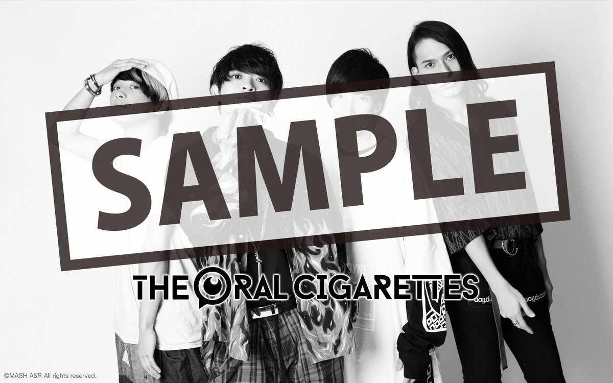 The Oral Cigarettes On Twitter Fc更新 Fcコンテンツのwall