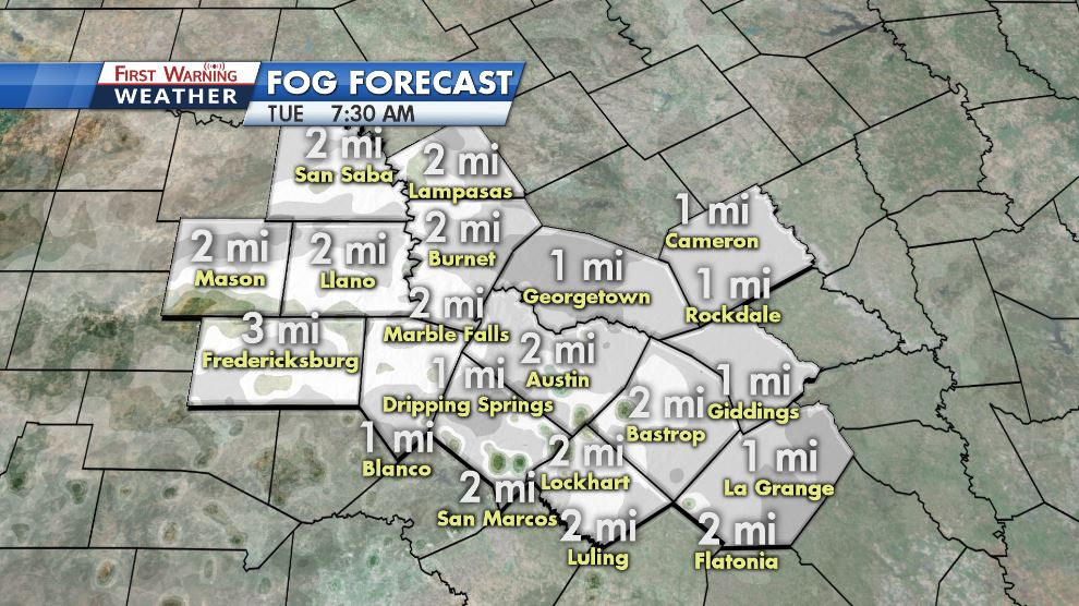 Kxan Traffic Map.Kxan Weather On Twitter Fog And Damp Weather Are Again Looking
