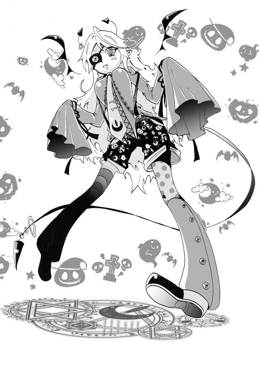 竹光 ファンタジーイラストレーター در توییتر もう一回10月といえばの さっきもだけどただのモンスターっ子のイラストも混ざってるような ハロウィン