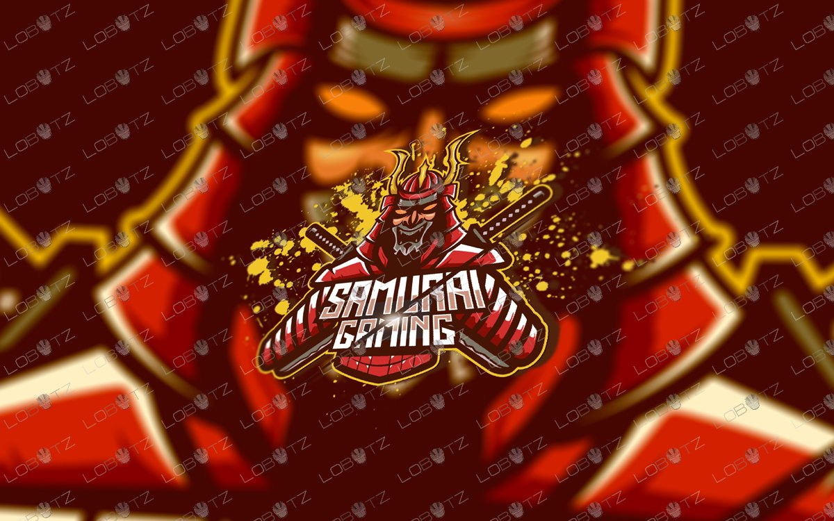Logos Lobotz On Twitter Samurai Mascot Logo Only 79 99