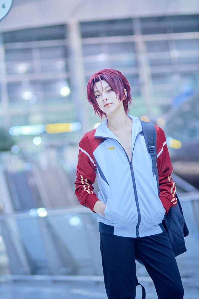 Free! Dive to the Future 🐬松岡 凛 :: SYO桐嶋 夏也 :: HERO (  )귀국하는