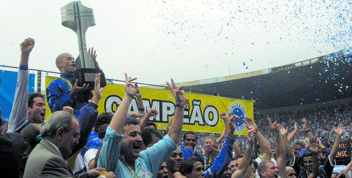 Cruzeiro de 2003 é apontado como o melhor time brasileiro do século  https://t.co/3NUzWkpahl