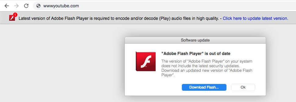 Adobe flash player sucks