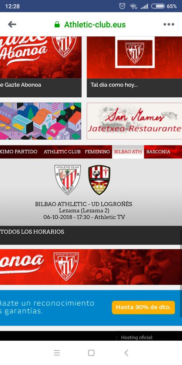 JORNADA 7 ATH DE BILBAO B vs UD LOGROÑES Sabado 6 Octubre 17:30 (web Athletic) DofzUP_W4AAJzQF