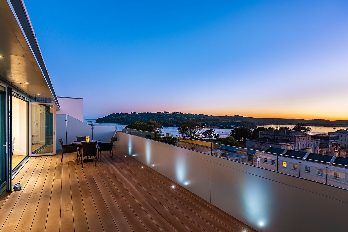 We've had a lot of responses to our recent Show Home photo.. we can confirm it was taken by the incredibly talented Michael Marker @29gallery. Here's another one taken of the view from the Show Home balcony. @MountWise @AMPlymouth #newproperty  Feature Image
