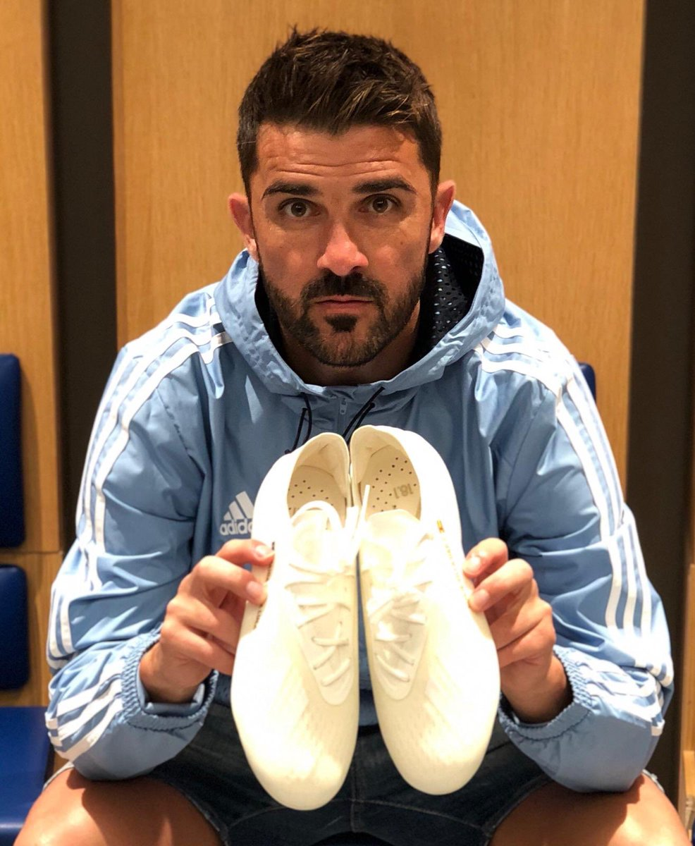 Triple White ⚽️  #X18 #HereToCreate @adidassoccer