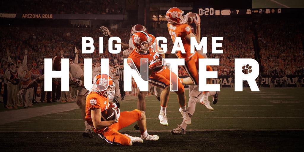 Baby-faced and under-sized, Clemson WR Hunter Renfrow is hardly recognized out of uniform, but college football's most clutch player hasn't gone unnoticed by the NFL (via @ChaseGoodbread)  #BACK2CAMPUS: https://t.co/XrVfBuAelW