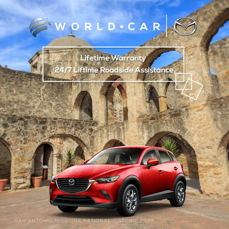 Great Plus, With The Purchase Of A New Mazda World Car Gives You: Lifetime  Warranty | 24/7 Roadside Assistance. Visit World Car Mazda NB: :  Https://goo.gl/rYx11V ...